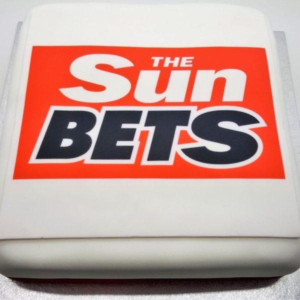 Print logo onto a cake