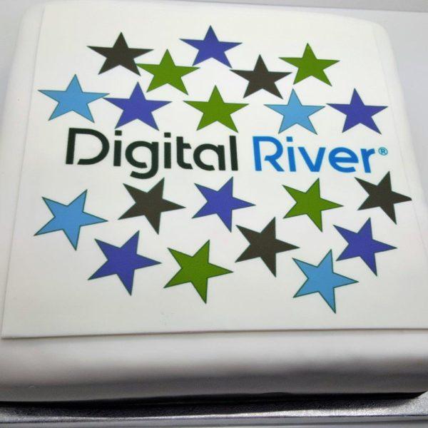 Print logo onto cake