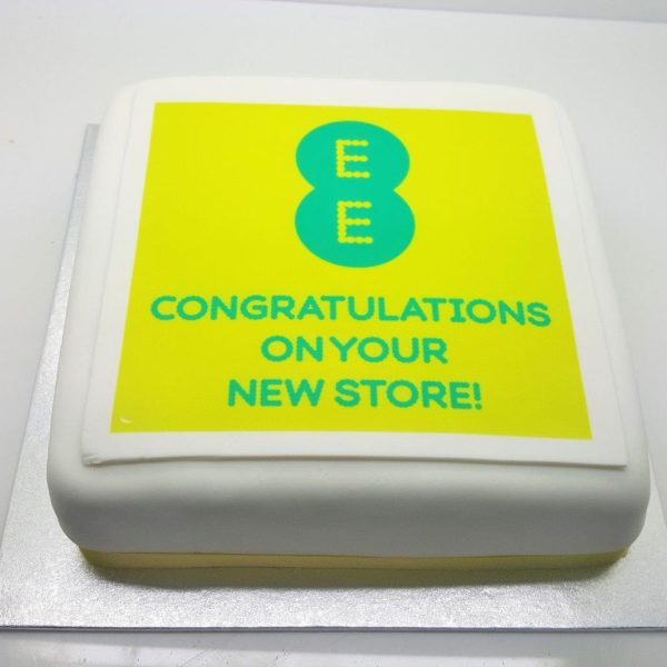 Brand Logo on a Cake