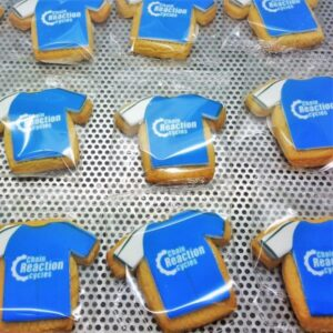 T-Shirt Shaped Logo Biscuit