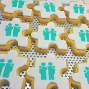 Jigsaw Shaped Biscuit