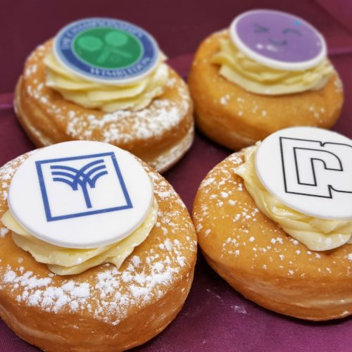 Logo Branded Doughnuts - Eat My Logo