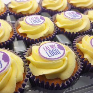 Logo Branded Corporate Cupcakes - Eat My Logo