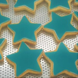 Star Shaped Logo Biscuit