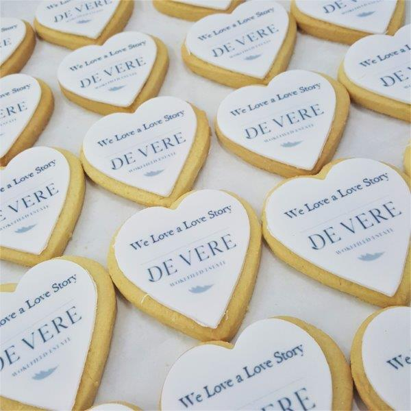 Heart Shaped Branded Shortbread