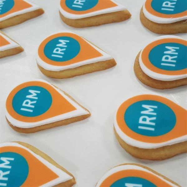 Pinpoint Shaped Branded Biscuit