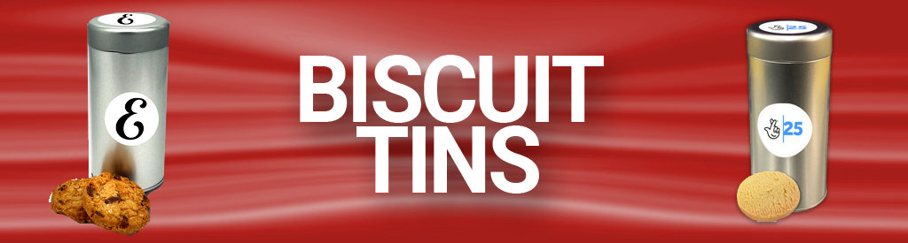 Logo Branded Corporate Biscuit Tins