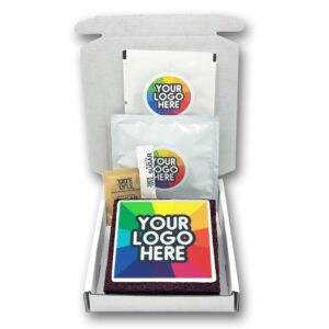 Logo Branded Brownie Brew Box