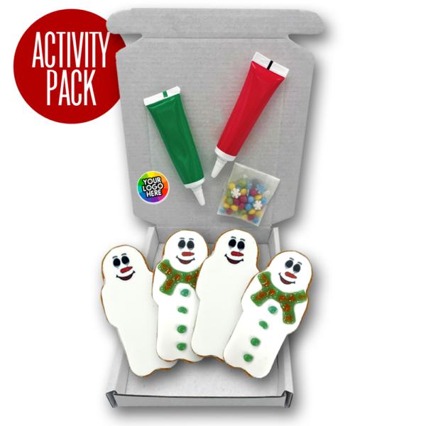 Deco Pack Gingerbread Logo Branded