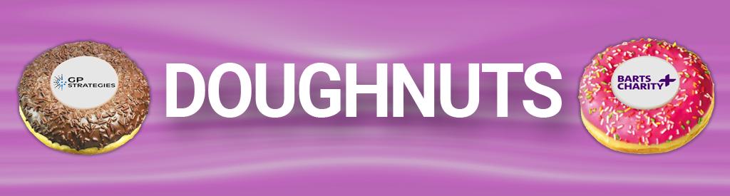 Corporate Logo Branded Doughnuts