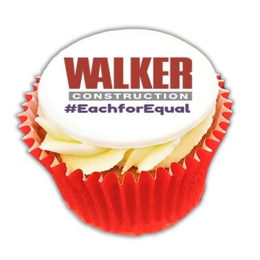 Branded Logo Cupcakes - Corporate - Postal Delivery – Order Online