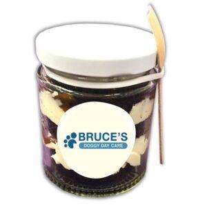 Vegan Caramel Muffin Cake Jar