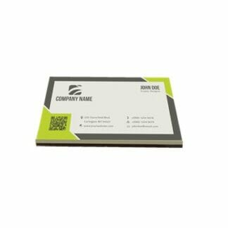 branded chocolate business card
