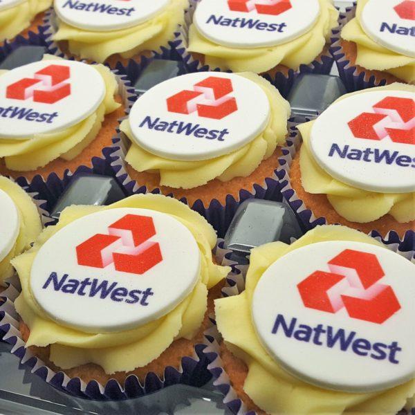 Logo Branded Cupcakes - NatWest