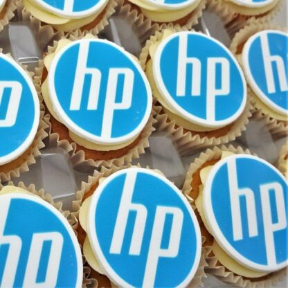 Logo Branded Cakes and Biscuits