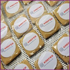 Logo Sticker Biscuits