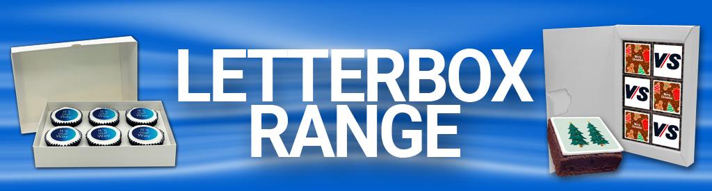 Logo Branded Edible Letterbox Range