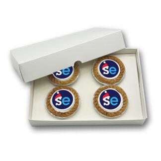 Logo Branded Mince Pie Giftbox