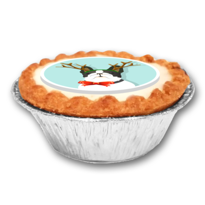 Logo Branded Mince Pies Corporate Christmas UK Delivery Festive