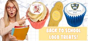 Back to school branded treats banner