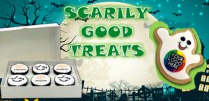 Branded Halloween Treats Banner