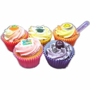 Patisserie Cupcakes in different colours and styles