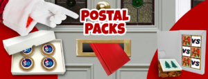 Christmas edible gifts postal packs