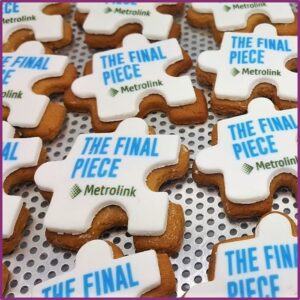 Shaped Iced Logo Biscuits