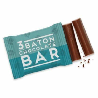 branded chocolates - 3 baton bar