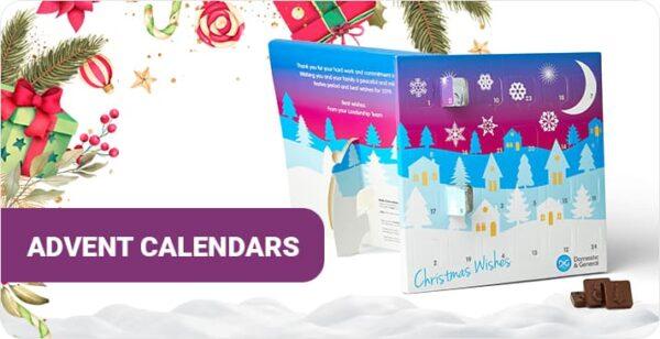 Promotional advent calendars CTA