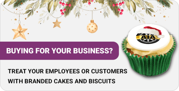 Corporate branded gifts for your business - christmas graphic