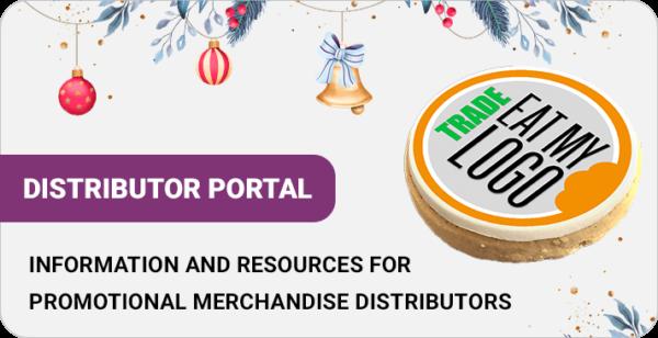Distributor portal Christmas graphic